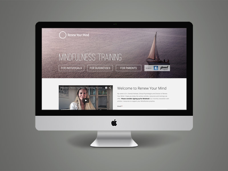 Renew Your Mind Website<div style='clear:both;width:100%;height:0px;'></div><span class='cat'>Web Design, Video</span>